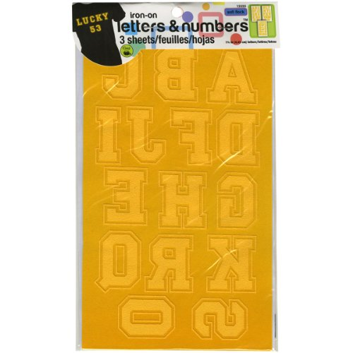 Dritz Iron-On Letters 1 3/4