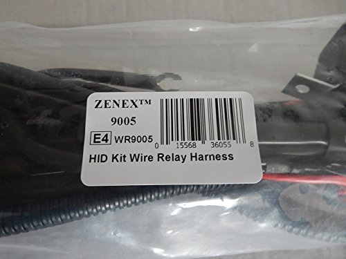 Zenex HID Kit Single Beam Wire Relay Harness (9005)