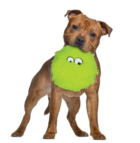 Godog furballz tough plush dog toy with chew guard for Really tough dog toys