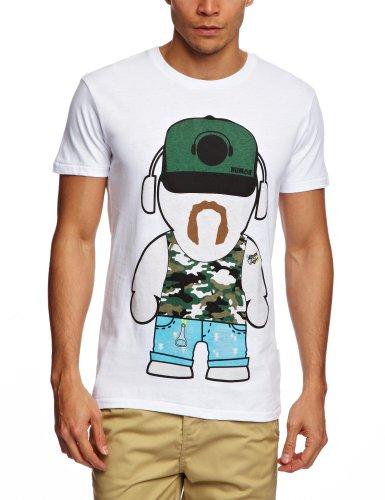 Humor Jakato Printed Men's T-Shirt Bright White Small