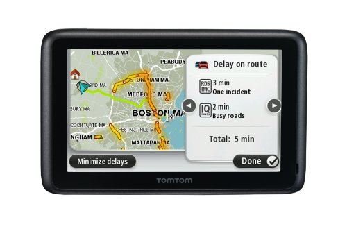 Tomtom 1CS0.019.01 GO 2405TM 4.3-Inch Portable Bluetooth GPS Navigator with Lifetime Traffic and Maps (Black)
