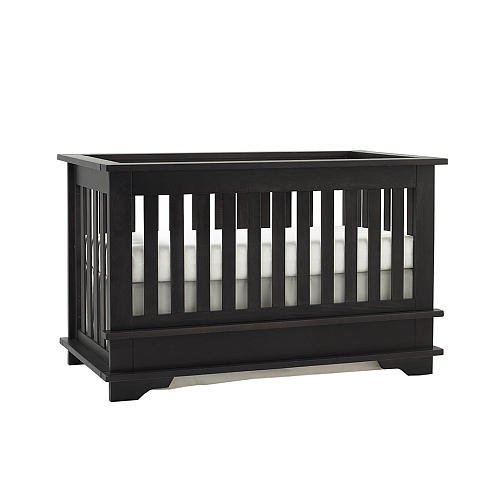 Baby Cache Eastport Lifetime Crib Vintage Gray front-484537