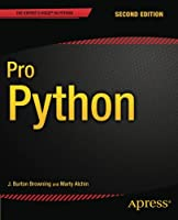 Pro Python, 2nd Edition Front Cover