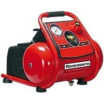 Rockworth RW1503TP 3-Gallon Factory Reconditioned Trim Finish Electric Air Compressor