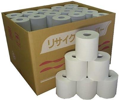 [超業務用] 無包装トイレットペーパー シングル100m 60個入り 牧製紙が作る柔らかソフトタイプ! 再生紙100% 漂白剤・蛍光剤は未使用 安心の国産品(岐阜県にて製造)