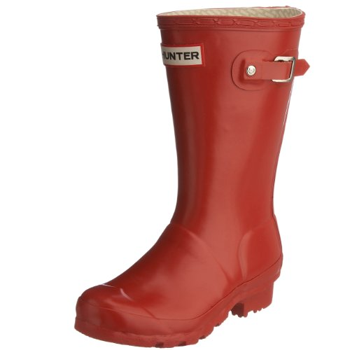 Hunter Junior Young Hunter Original Wellies Red W23500 8 Child UK