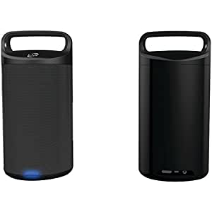 iLive Wireless Bluetooth Speakers, Set of 2 (Black)