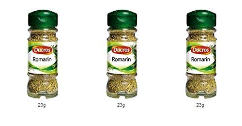DUCROS - Poivres Herbes Epices - Herbes - Romarin - 23 g - lot de 3