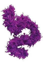 """Deluxe 6' Purple 20s Costume Accessory Feather 72"""" Boa"""