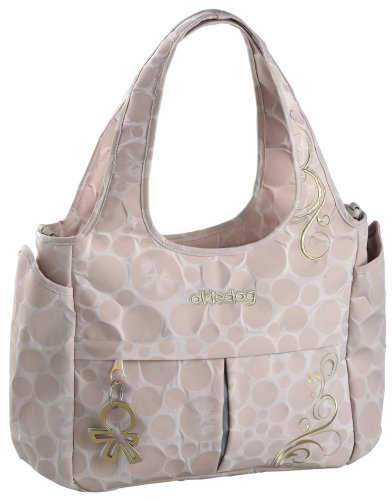 Okiedog Bliss Luxury Celeb Tote Baby Changing Bag (Beige)