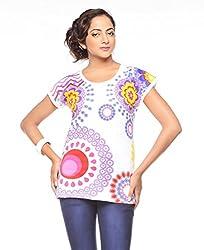 Trendy Girlz Printed FANDANGO PINK Tunic