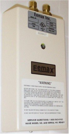 Eemax Sp48 4.8 Kilowatts 240 Volts Electric Single Point Of Use Tankless Water H, N/A