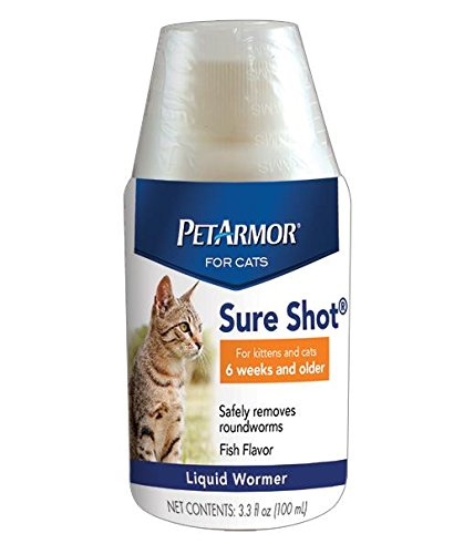 Petarmor Sure Shot Liquid Wormer For Cats 100ml Crown