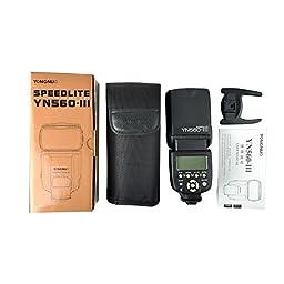 Yongnuo Professional Flash Speedlight Flashlight Yongnuo Yn 560 III for Canon Nikon Pentax Olympus Camera / Such As: Canon EOS 1ds Mark, Eos1d Mark, EOS 5d Mark, EOS 7d, EOS 60d, EOS 600d, EOS 550d, EOS 500d, EOS 1100d