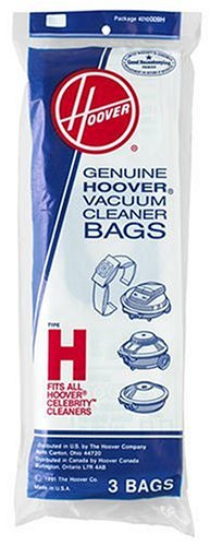 Hoover Type H Bag (3-Pack), 401009H (Hoover D Bags compare prices)