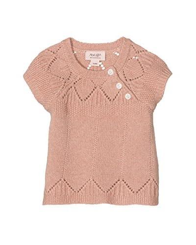 Noa Noa miniature Pullover Manica Corta  [Rosa]