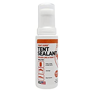 Gear Aid Tent Sure Tent Floor Sealant, 4 Ounces