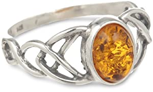 Sterling-Silver-Amber-Celtic-Knots