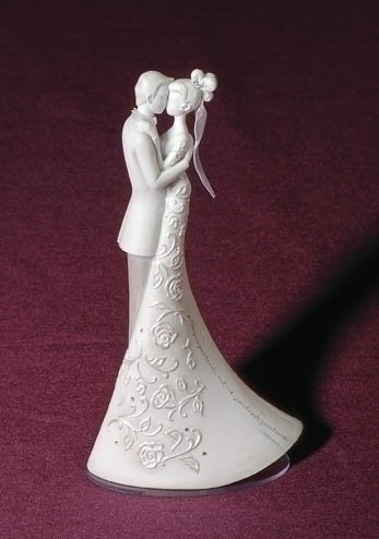 First Dance Wedding Cake Topper Language of Love Roman