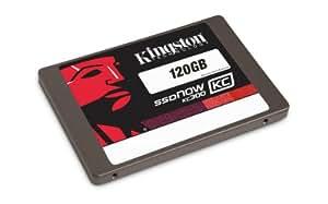 Kingston SKC300S37A/120GB interne 120GB SSD-Festplatte (6,9 cm (2,5 Zoll), SATA III) schwarz