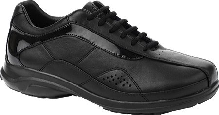 Oasis Women's Alana Lace-Up Oxford Shoes, Black/Black, 7.5 E Us (Black Oasis Shoes compare prices)