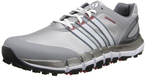adidas Men's Pure 360 Gripmore Golf Shoe,Light Onyx/White,8.5 M US