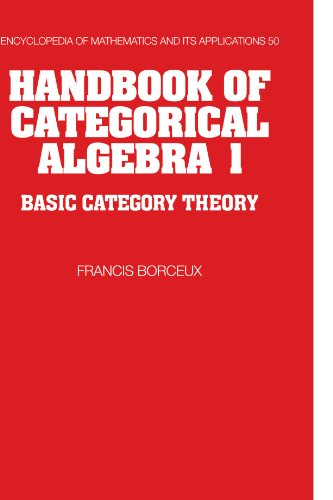 Handbook of categorical algebra. Basic category theory