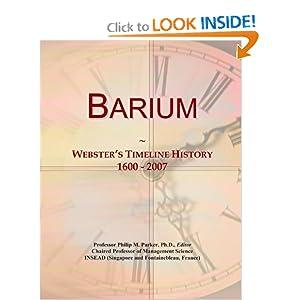 Barium History | RM.