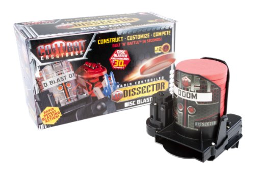 Attacknid Attachments Combat Creatures Dissector Disc Blaster R/C Bolt 'n' Battle - Disc Power Pack w/ 12 discs! Compatible with Attacknid Vanguard Stryder, Doom Razor, MK1