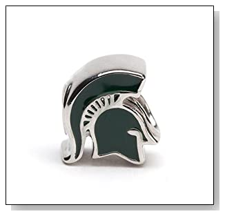 Michigan State University Charm Bead Fits All Charm Bracelets