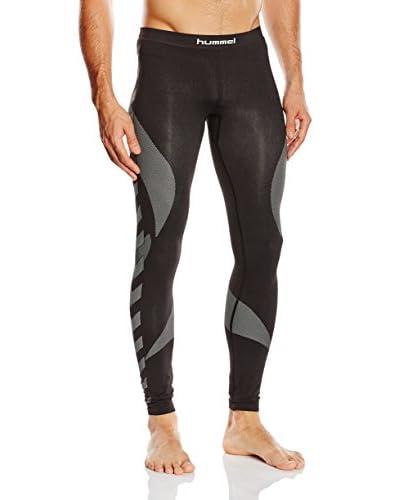 Hummel Pantalón Interior Técnico Negro / Gris Oscuro