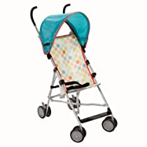 Cosco Umbrella Stroller with Canopy, Dots