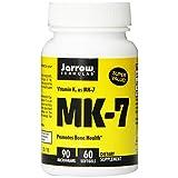 Jarrow Formulas MK-7, 90 mcg, 60 Count ~ Jarrow