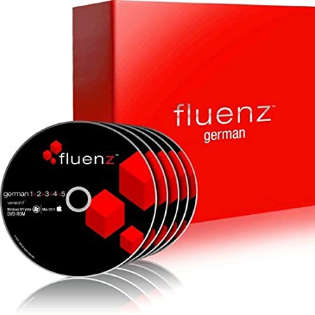 Fluenz German 1+2+3+4+5 with supplemental Audio CDs