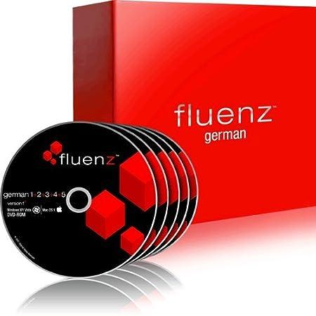 Fluenz German 1+2+3+4+5 with supplemental Audio CDs