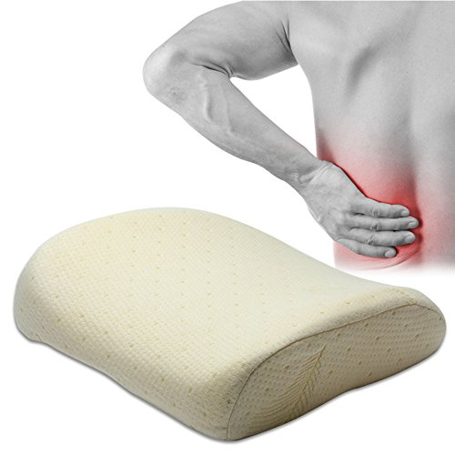 Gracallet Relieve Stress And Release Fatigue Super Soft Comfortable Memory Cotton Health Backrest (W141281-Light Brown)
