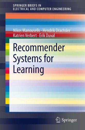 Recommender Systems For Learning (Springerbriefs In Electrical And Computer Engineering)