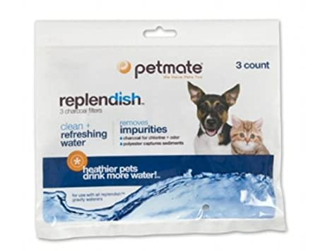 Petmate Replendish Charcoal Replacement Filters, 3-Pack $5.85