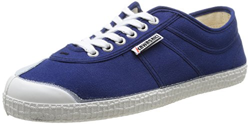 Kawasaki - Rainbow basic, Senakers a collo basso, unisex, blu (navy / 90), 43