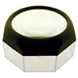 HEXAGONAL 6X DOME MAGNIFIER