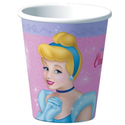 Cinderella Stardust 9 oz. Cups (8)