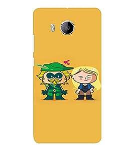EPICCASE Super Hero Mobile Back Case Cover For VIVO X shot (Designer Case)