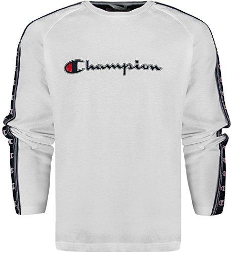 Champion -  Felpa  - Uomo bianco X-Large