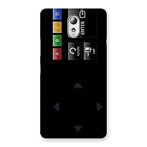 Cool Remote Enter Back Case Cover for Lenovo Vibe P1M