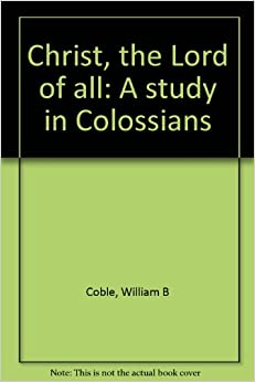 Study of colossians 3