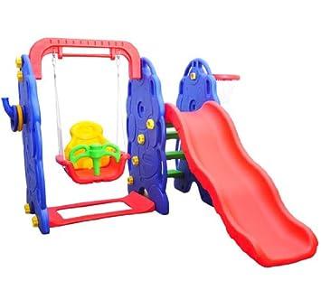 Toboganes plasticos toboganes en juegos de aire libre y - Columpio infantil jardin ...