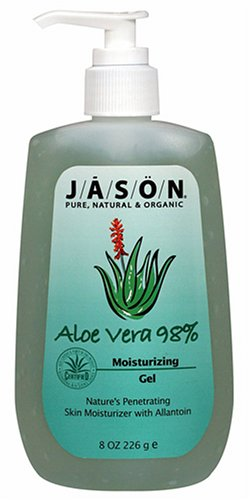 JASON Natural Cosmetics Aloe Vera 98%, Moisturizing Gel, 8 oz