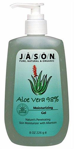 JASON Natural Cosmetics Aloe Vera 98%, Moisturizing Gel, 8 oz