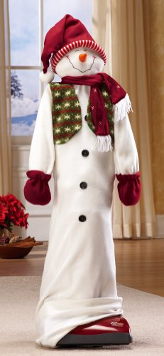 Great Features Of Collections Etc - Holiday Snowman Vacuum Cleaner Cover