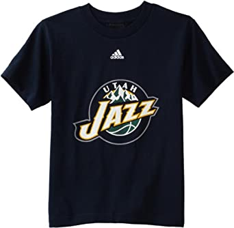 NBA Utah Jazz Short Sleeve Tee Team Logo - R8A3Nmkja Youth by adidas